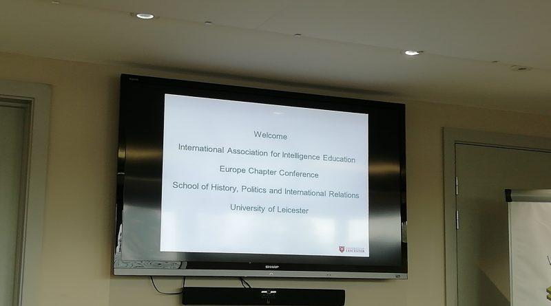 Congresso annuale delle strutture di formazione di intelligence 2018